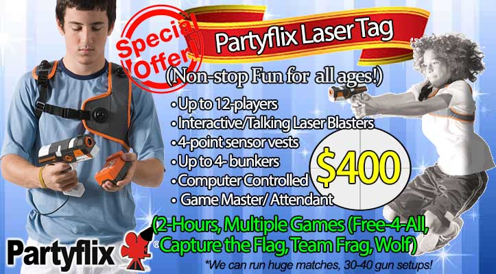Laser Tag Rental in Miami