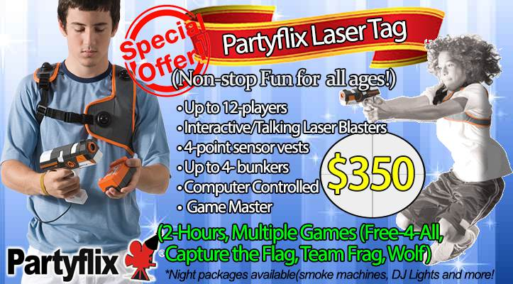 laser tag rental in Atlanta